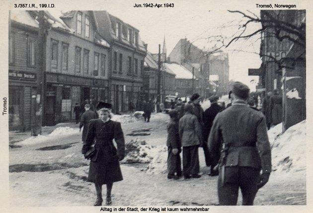 Hverdagsliv i Tromsø under krigen.