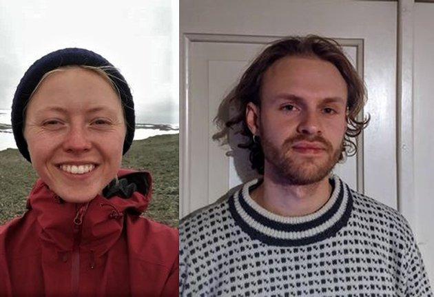 STØTTER SØKSMÅL: Flere miljøvernorganisasjoner har saksøkt staten for brudd på Klimaragrafen. Tirsdag arrangeres det støttedemonstrasjon i Ås, skriber Ragne Kyllingstad ( Ås Grønne studenter)  og Magnus Flåten Nickelsen (Rødt Ås Studentlag).