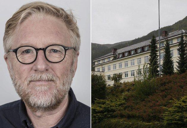 ALVOR: – Helse Førde må ta på alvor signaleffekten av at dei no er opphavet til smitten, skriv ansvarleg redaktør i Firda, Kai Aage Pedersen.