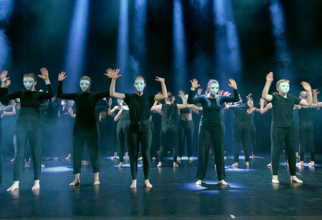 Se bilder fra IDENTITET Kulturskolen på Blå Grotte.