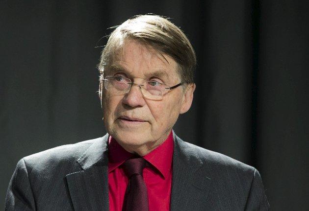 KOMMER: Tidligere biskop Gunnar Stålsett skal snakke om «Mennesket først». Foto: Berit Roald/NTB scanpix