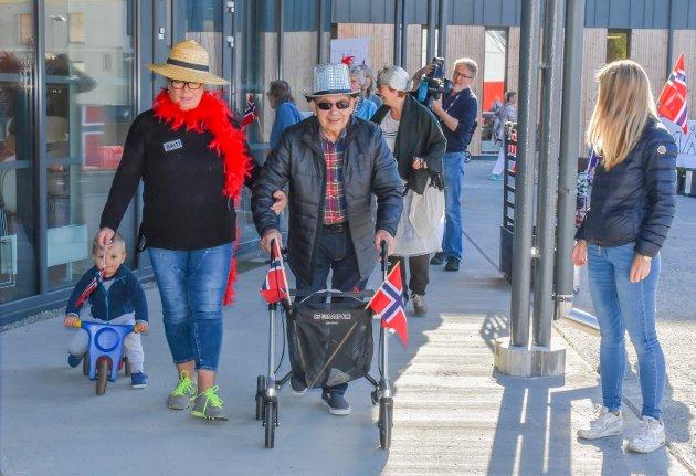Rullator og trehjulsykkelløp på Fosshagen