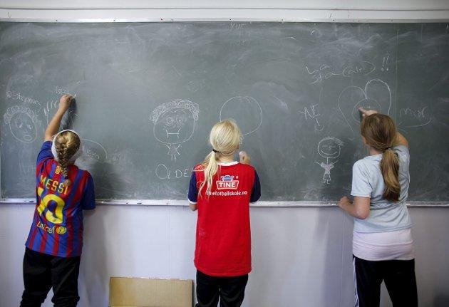 SKOLEHVERDAG: Anne Grønsund argumenterer for større bruk av barnevernspedagoger i skolehverdagen. foto: nicklas knudsen