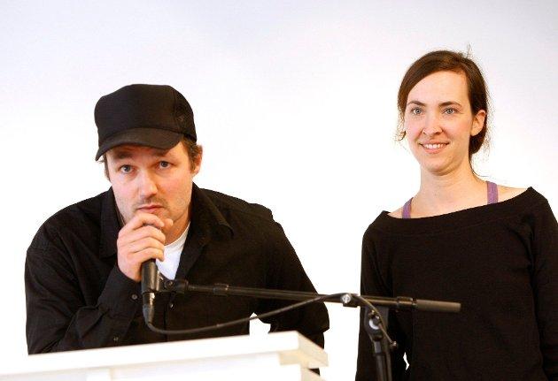 Bilde fra da regissørene Vegard Vinge og Ida Müller mottok kritikerprisen i 2008. Fra tidsrommet 2007 til 2019 fikk stiftelsen Vinge/Müller tildelt 37 millioner kroner av Kulturrådet.