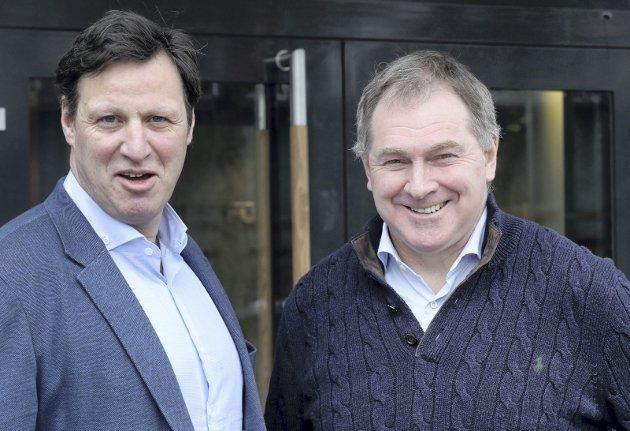 TRØBBEL: Idrettstoppene Tom Tvedt og Inge Andersen er blitt ikon på det omvendte av det idretten står for.