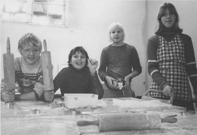 Julegaveverksted 1980, Spydeberg skole.