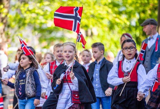 Barnetoget i Lillehammer.