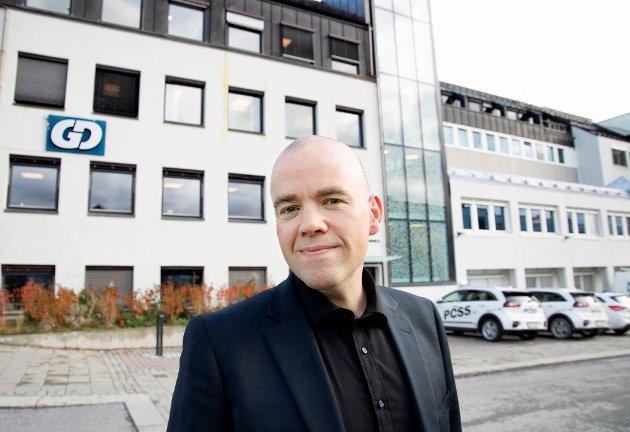ANSVARLIG REDAKTØR I GD: Tom Martin Kj. Hartviksen.