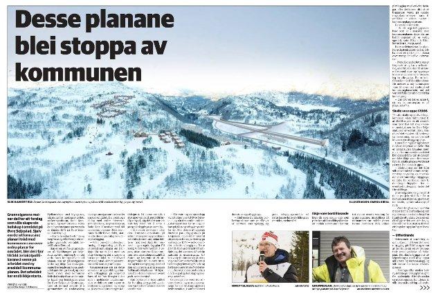 Å bevare fjellet vest for veien slik det ligger i dag som turområde vil være det rette for å gi turistdestinasjonen Seljestad en helskap, skriver Finn T. Ruud.