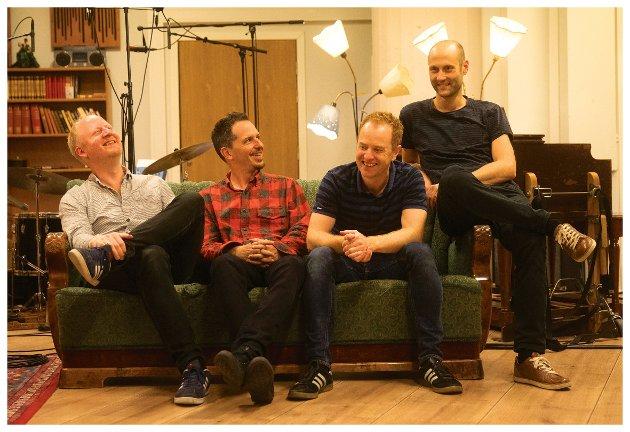 Bjørn Vidar Solli, John Ellis, Håkon Mjåset Johansen og Daniel Buner Formo - en framifrå kohort.