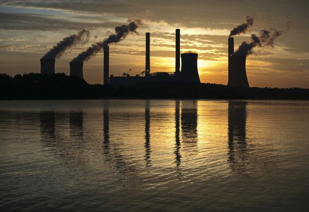 Kullkraftverk.  FOTO: Scanpix
