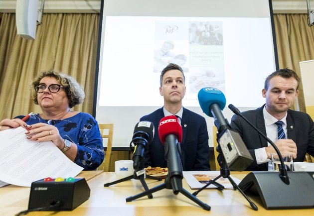 I forhold til sin størrelse har kristendemokratene og superliberalistene så mye makt over vårt felles beste at det grenser til det udemokratiske, skriver spaltist Erling Gjelsvik.  FOTO: Gorm Kallestad / Scanpix