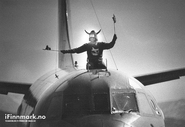 FLYSHOW PÅ BANAK: Flystevne på Banak 13.06.1987.