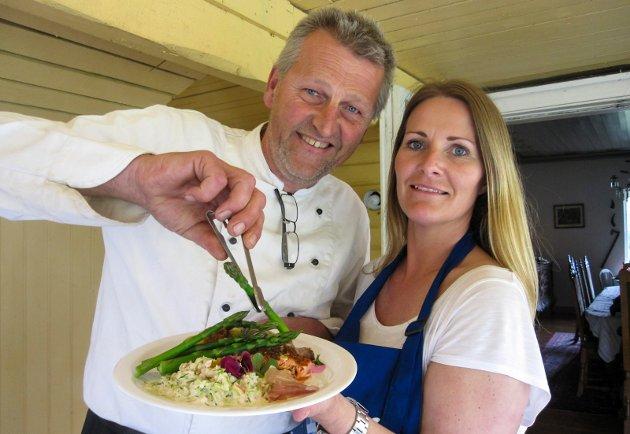 Røed gård aspargesfestival