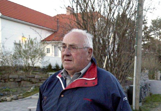 HAR GÅTT BORT: Egil Jahre er død, 92 år gammel. Han var tidligere ordfører på Tjøme, og engasjerte seg også i folkeaksjonen for å beholde boplikten på øya.