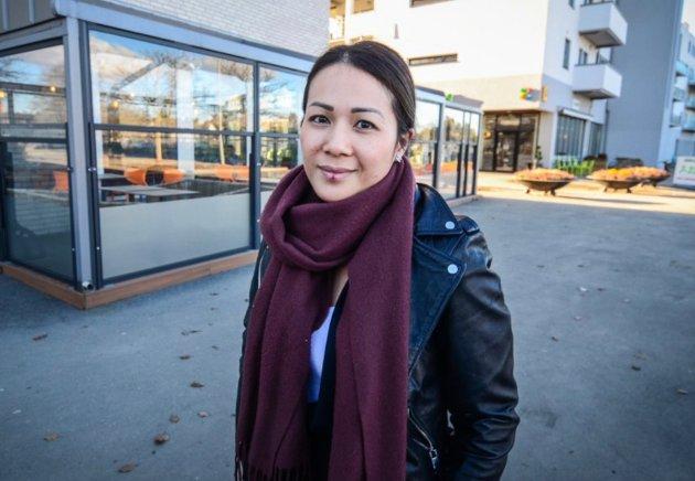 Restaurantsjef Nicole Dang hos Aas Bistro.