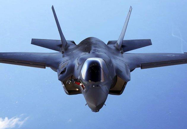 Flystøy: Den voldsomme støyen fra F35-flyene er hovedgrunnen til at forsvarssjefen må samle alt på Evenes.