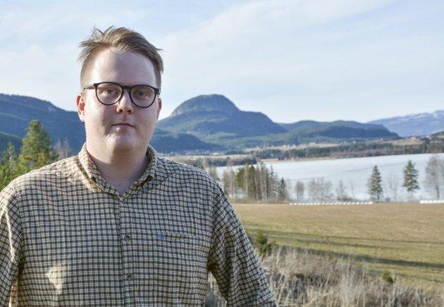 NR. 5: Magnus Weggesrud er på 5. plass på lista til Viken Sp.