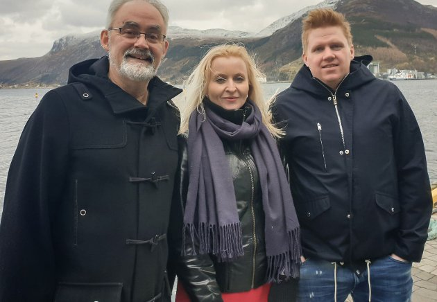 F.v. Geir Oldeide, Marie Kronen Tveranger, Daniel Henriksson