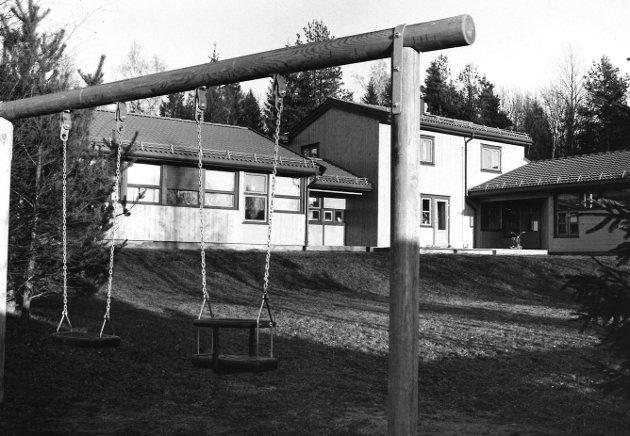 Klypen barnehage på Øreåsen, januar 1989
