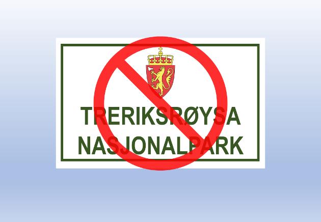 Nei til Treriksrøysa nasjonalpark!