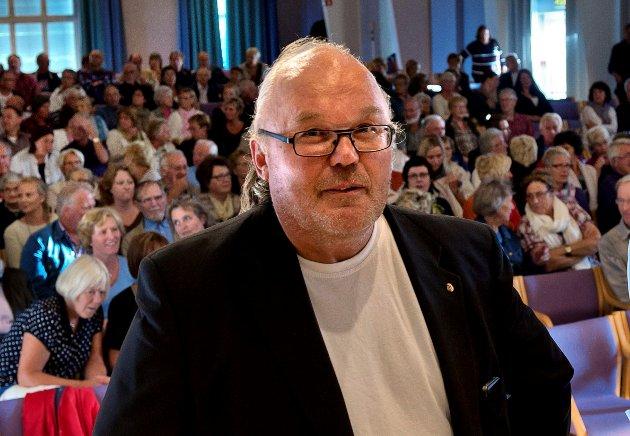 TILSVAR: Størk Hansen  mener et hovedsykehus medfører økt transport og økte utslipp av CO2.