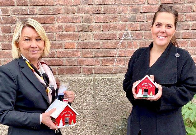 Justisminister Monica Mæland og stortingsrepresentant fra Vestfold, Lene Westgaard-Halle