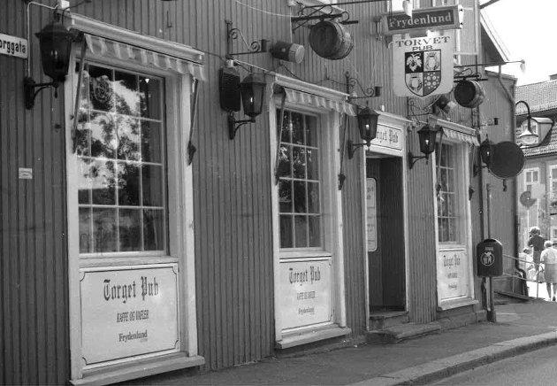 Torget pub i Drøbak.