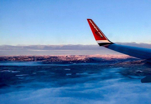 Flyene er viktige når avstandene i Norge er store