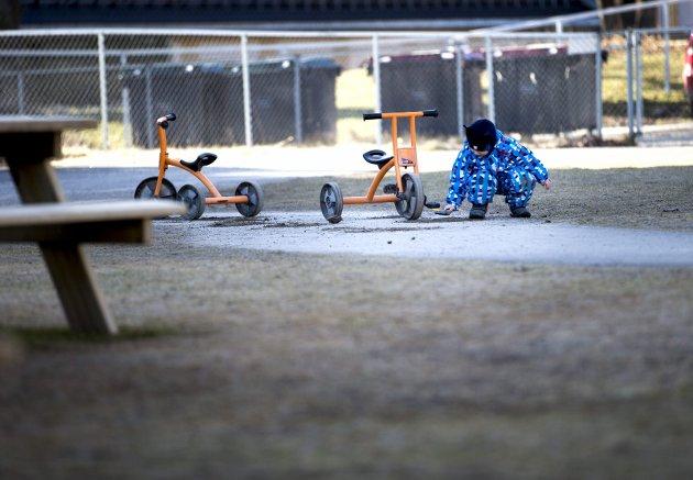 Oslo, Norway 20150309.Illustrasjoner til barnehage.Barnehagebarn. Småbarn. Barnehagebarn.Foto: Gorm Kallestad / NTB scanpix