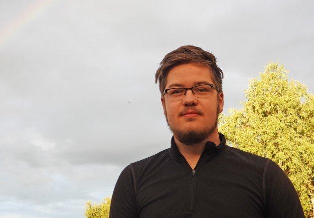 Ivar Østby, fagligpolitisk ansvarlig i AUF i Trøndelag