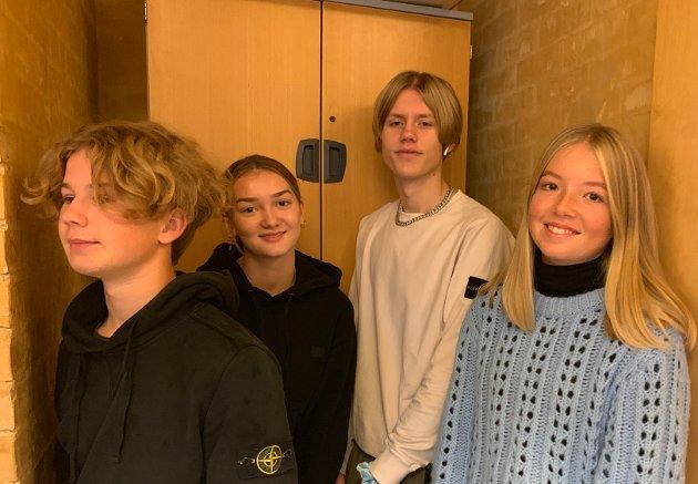 Lars-Tore Presterud, Amanda Loland, Daniel Freyr og Sunniva Asp Thoresen har jobbet med glemte kriser og skrevet et innlegg om saken.