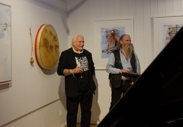 Utstilling med Øyvind Stjernen og Kurt Edvin Blix under Smeltedigelen.