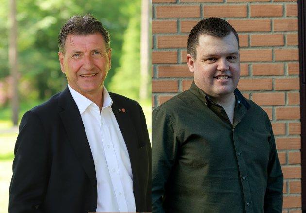 Stein Erik Lauvås og Marius Bjørndalen.