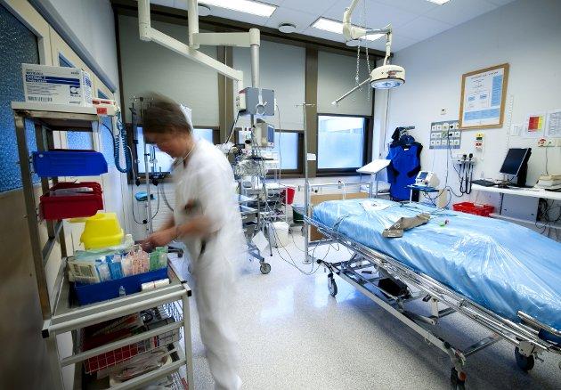 USIKKERHET: Uten dyktige ansatte får ledelsen til Sykehuset Innlandet vansker med å innfri sine mål.