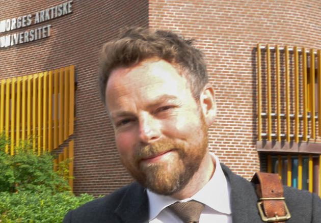 Kunnskapsminister Torbjørn Røe Isaksen. Åpning av studieåret 2017/2018 ved UiT Campus Alta. Foto: Oddgeir Isaksen