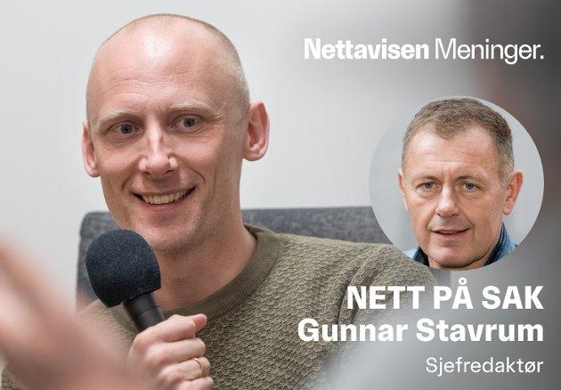 SLØSERIOMBUDSMANNEN: Elverum-mannen Are Søberg har klart å hisse på seg kunst-Norge.