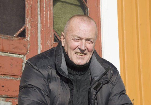 FORNØYD: Hans Peter Andersen