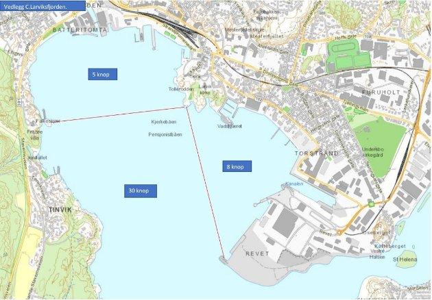 Illustrasjon: Larvik havn