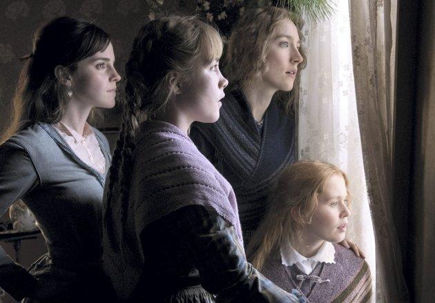 Gode rolleprestasjoner: Emma Watson, Florence Pugh, Saoirse Ronan og Eliza Scanlen gjør gode fremstillinger av småfrøknene i denne filmatiseringen av romanklassikeren fra 1800-tallet. foto: WILSON WEBB / Columbia pictures