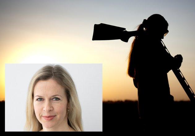 JAKT: Det er på tide å skrote fortellingene fra steinalderen om menn som dro på jakt, mens kvinner passet boplassen og barn, skriver kommentator Kathrine Lunde Solbraa.