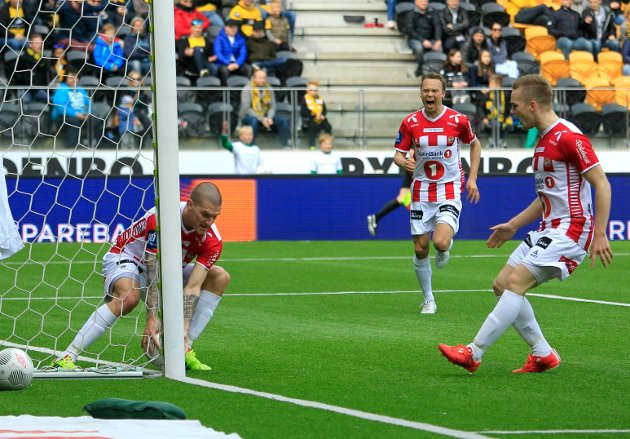 Zdenek Ondrasek tente TIL-håpet med sin scoring. Foto: Scanpix