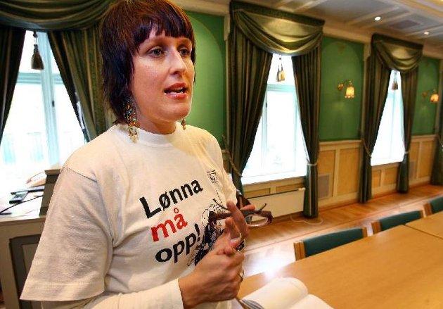 LEDER: Nina Eimen har også vært klubbleder i NRK Troms.