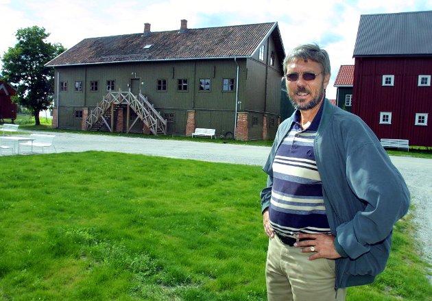 På lager: Gunnar Hoveraks samling ble flyttet til Lilleplassen på Gardermoen. Men mye er stuet bort.Foto: MOrgan ANdersen