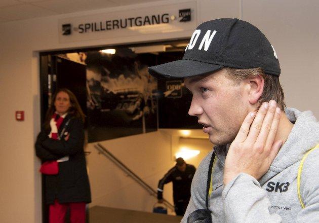 Fredrik Haugen  har vært dønn ærlig de de siste kampene: Det Brann leverer, er ikke godt nok. Nå vil han vise noe som kan gjenreise tilliten til laget og klubben.