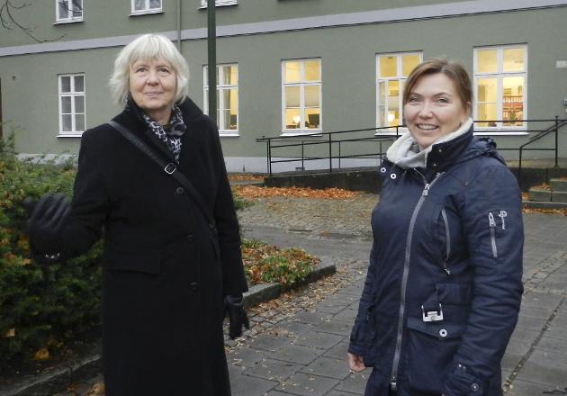 Museumsdirektør for Østfoldmuseene, Gunn Mona Ekornes (til venstre), og avdelingsdirektør Lillian Nyborg skriver om Spinneriet denne gang.  (Arkifoto: Steinar Omar Østli)