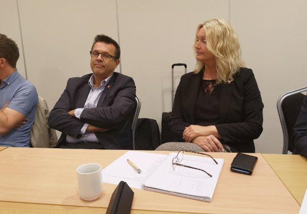 Frank Sve og Fremskrittspartiet er med på å stemme fram Tove-Lise Torve som fylkesordfører.