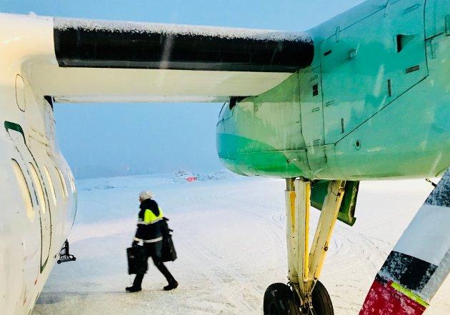 Flyene er viktige når avstandene i Norge er store.