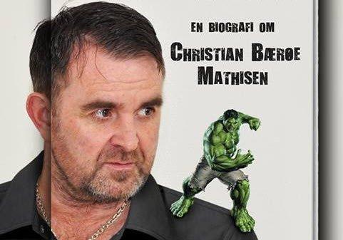 BOK: Christian Bærøe Mathisen har gitt ut bok om sitt misbruk av anabole steroider. En sterk historie.