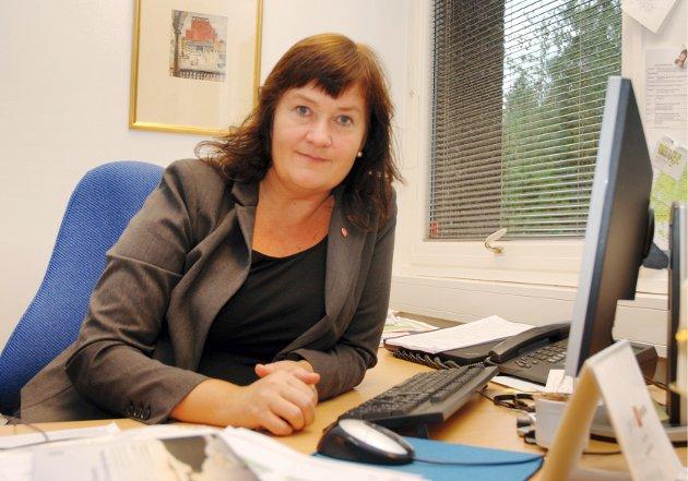 Inger-Lise Skartlien, leder for Kommunenes Sentralforbund i Østfold og ordfører i Rygge, har forventninger til møtet med Østfoldbenken. – Østfold bør vise frem kompetansemiljøene, og det bør gi flere arbeidsplasser, mener hun.